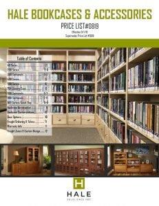 Hale Bookcases Price List