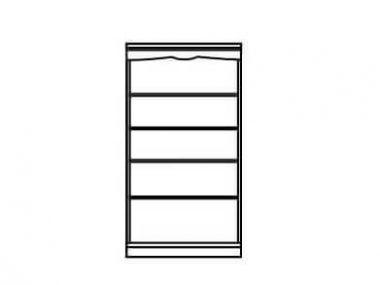 Shelving line drawing