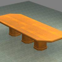 custom table. 9
